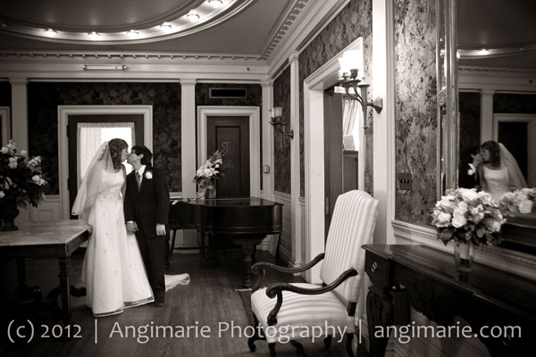 Book your wedding now at The Governor Hill Mansion